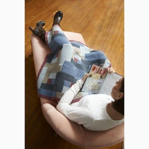 Kollage Yarns 3827 Lincoln Log Blanket -  ()