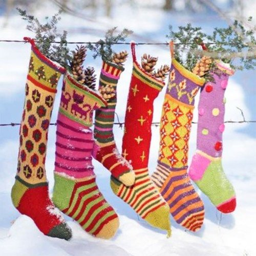 Kristin Nicholas Designs Creative Christmas Stockings PDF -  ()