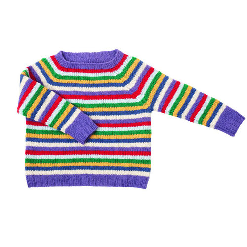 Lamana K01/04 Kids Striped Sweater PDF -  ()