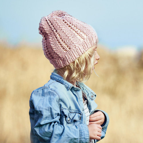 Lana Grossa 01 Kid's Hat in Mary's Tweed PDF -  ()