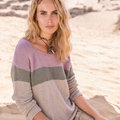 "Lana Grossa 01 Pullover in Linea Pura Fourseason Kit - 44"" (02)"