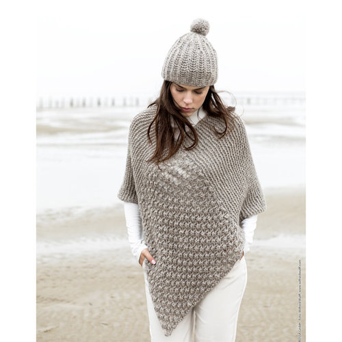 Lana Grossa 03 Poncho & Hat in Lala Berlin Lovely Cashmere PDF -  ()