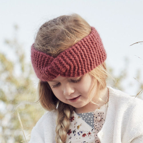 Lana Grossa 07 Girl's Headband in Lala Berlin Lovely Cashmere PDF -  ()