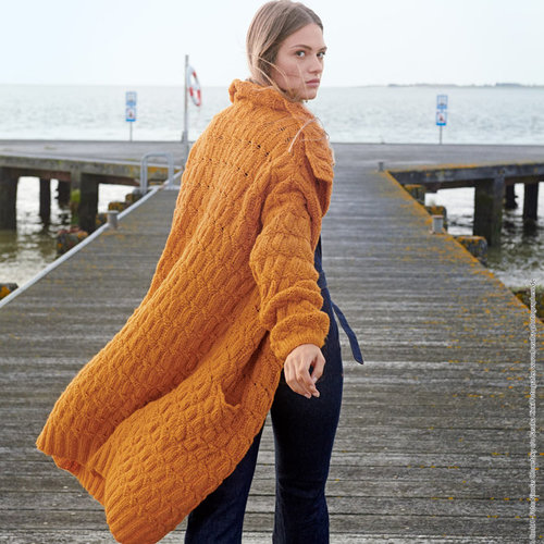 Lana Grossa 08 Coat in Cool Air PDF -  ()