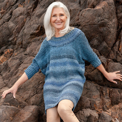 Lana Grossa 09 Pullover in Gomitolo Summer Tweed PDF -  ()