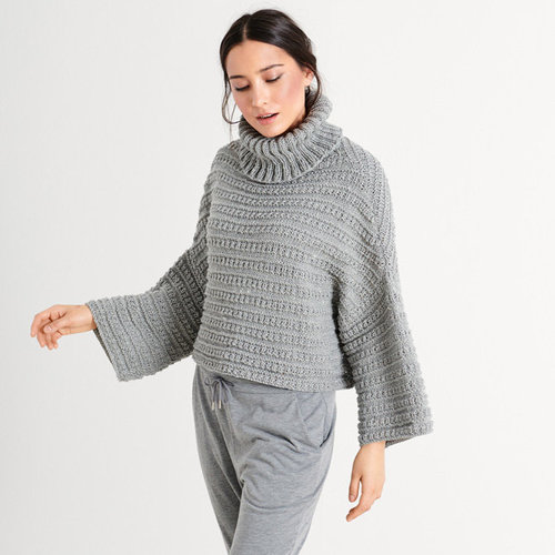 Lana Grossa 12 Pullover in Slow Wool Canapa PDF -  ()