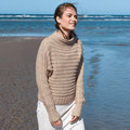 "Lana Grossa 14 Pullover in Benessere Kit - 36-38"" (01)"
