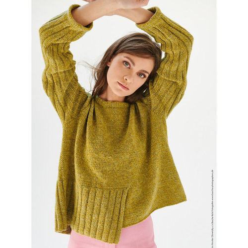 Lana Grossa 18 Pullover in Mary's Tweed PDF -  ()