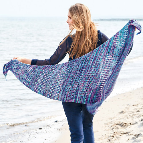 Lana Grossa 19 Shawl in Pappagallo PDF -  ()