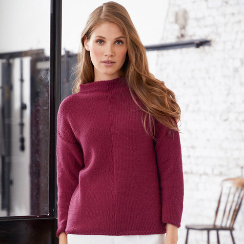 "Lana Grossa 21 Pullover in Cool Wool Big Kit - 36-38"" (01)"