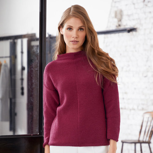 Lana Grossa 21 Pullover in Cool Wool Big PDF -  ()