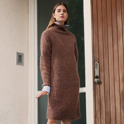 Lana Grossa 22 Dress in Lala Berlin Fluffy Tweed PDF -  ()