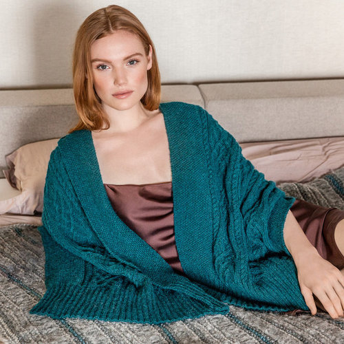 Lana Grossa 23 Shawl in Ecopuno PDF -  ()