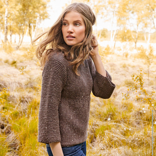 Lana Grossa 24 Pullover in Slow Wool Canapa PDF -  ()