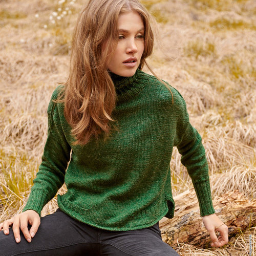 Lana Grossa 27 Pullover in Slow Wool Lino PDF -  ()