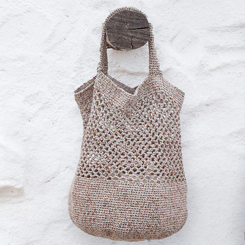 Lana Grossa 42 Crocheted Bag in About Berlin Sparkly PDF -  ()