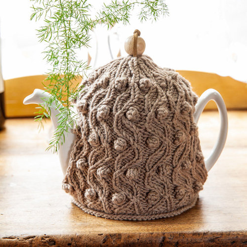Lana Grossa 58 Tea Cozy in Bingo Melange PDF -  ()