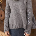 "Lana Grossa Design 45 Pullover Kit in Cloud - 46.5"" (02)"