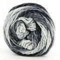 Lana Grossa Gomitolo Conseta - Raw White/ Silver Gray/ Medium Gray/ Dark Gray (709)