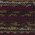 Lana Grossa Meilenweit 100 Pueblo - Raspberry-Brown-Gold (4205)