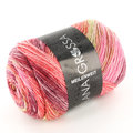 Lana Grossa Meilenweit 100 Sorbetto - Coral/Red/Lime/Pink (6258)