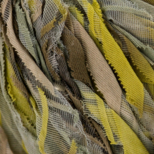 Lana Grossa Pezza - Beige, Green Yellow, Khaki (02)