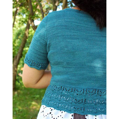 Laura Chau Bellevue Cardigan for Fingering Weight Yarn PDF -  ()