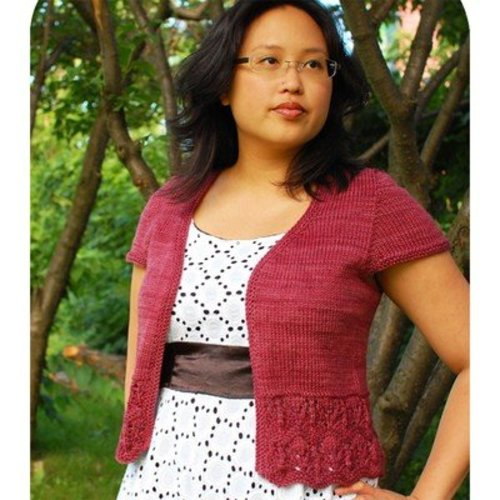 Laura Chau Bellevue Cardigan for Worsted Weight Yarn PDF -  ()