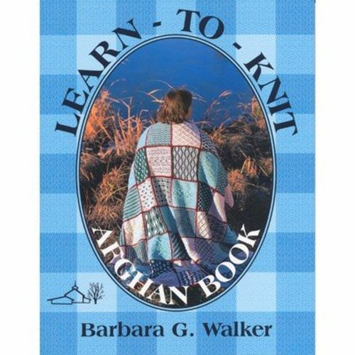 Learn-to-Knit Afghan Book -  ()