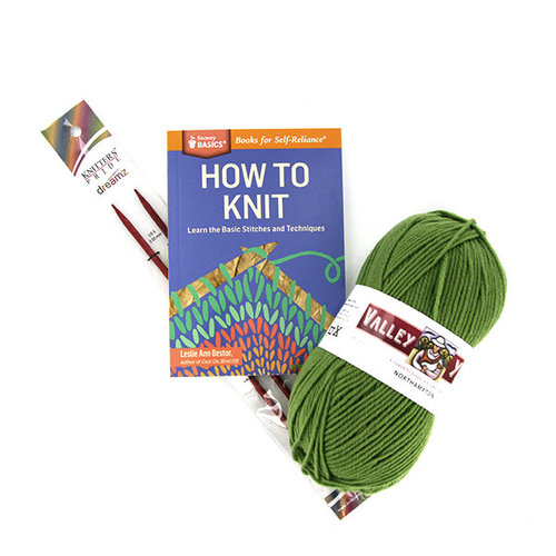 Learn to Knit Kit -  ()