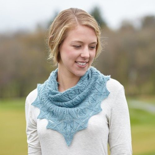 Lily Go Rendezvous Shawl PDF -  ()