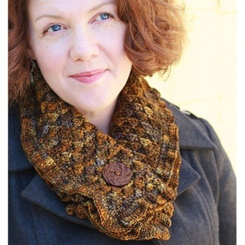 Linda Permann Cocoa Wafer Cowl PDF -  ()