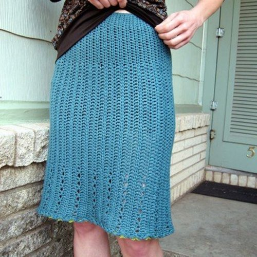 Linda Permann Lace Skirt PDF -  ()