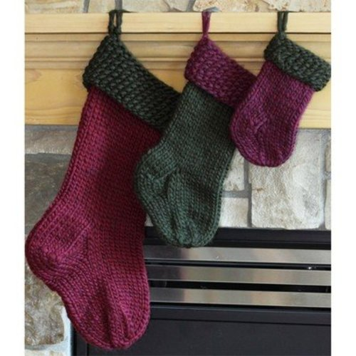 Lisa Ellis Designs A-8 Old Fashioned Christmas Stockings PDF -  ()