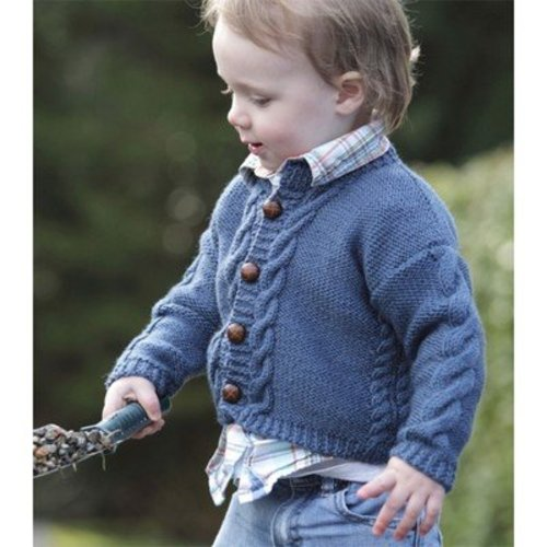 Lisa Ellis Designs CS-21 All Grown Up Cardigan PDF -  ()
