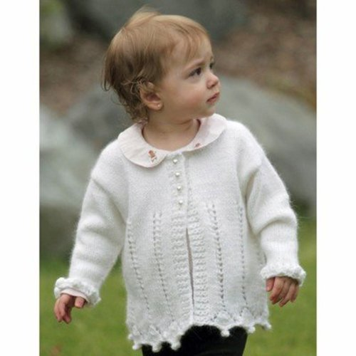 Lisa Ellis Designs CS-22 Precious Heirloom Cardigan PDF -  ()