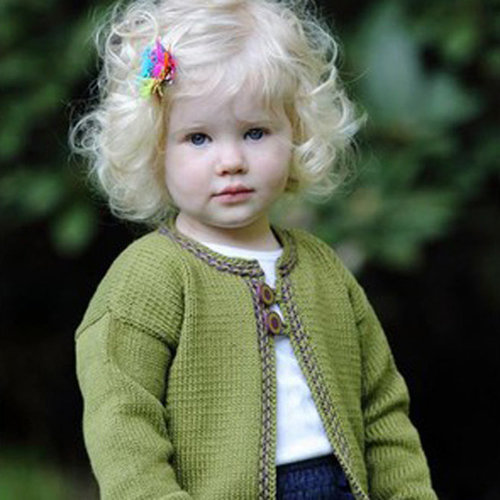 Lisa Ellis Designs CS-23 Peek A Boo Cardigan PDF -  ()