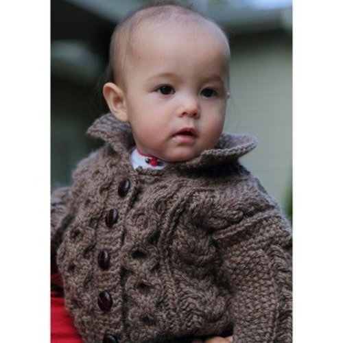 Lisa Ellis Designs CS-5 Lil Bear Cardigan PDF -  ()