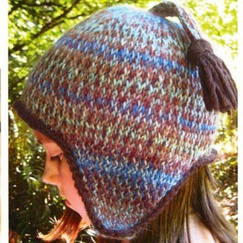 Lisa Ellis Designs H-18 Basic Twined Ski Hat PDF -  ()