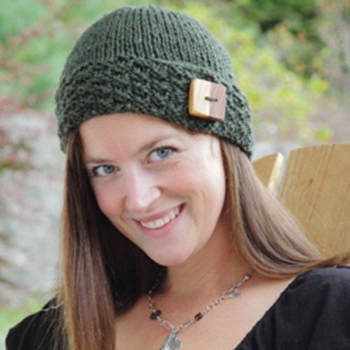 Lisa Ellis Designs H-29 Northwest Button Band Hat PDF -  ()