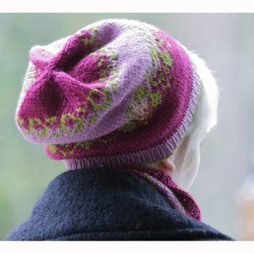 Lisa Ellis Designs H-36 Starry Night Hat and Cowl PDF -  ()