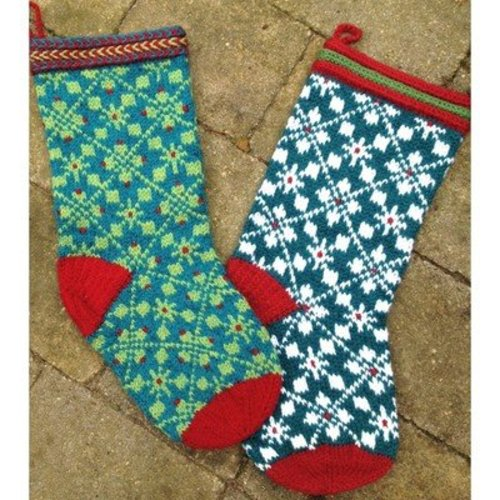 Lisa McFetridge Scandinavian Christmas Stocking PDF -  ()