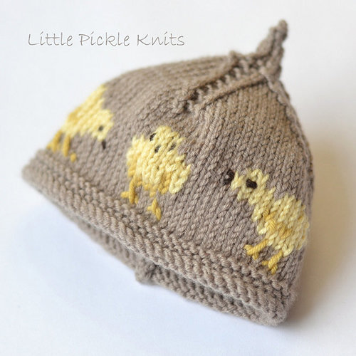 Little Pickle Knits Little Chick Beanie PDF -  ()