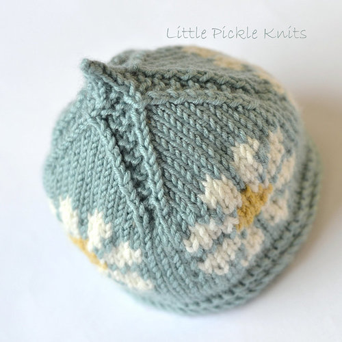 Little Pickle Knits Little Daisy Flower PDF -  ()