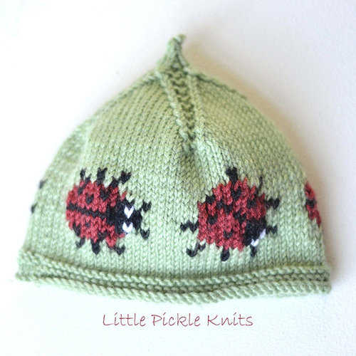 Little Pickle Knits Little Ladybird PDF -  ()