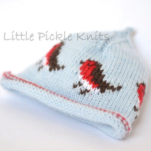 Little Pickle Knits Little Robins Christmas Bundle PDF -  ()
