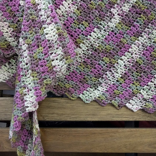 Lorna's Laces Diagonally Scarf and Shawl Kit - Atticus-Scout (ATTSCO)