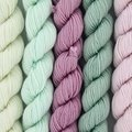 Lorna's Laces String Quintet Set - Harp (Mint, Rose, Pale Pink) (HARP)