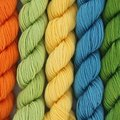 Lorna's Laces String Quintet Set - Piano (Lime, Gold, Turquoise, Orange) (PIANO)