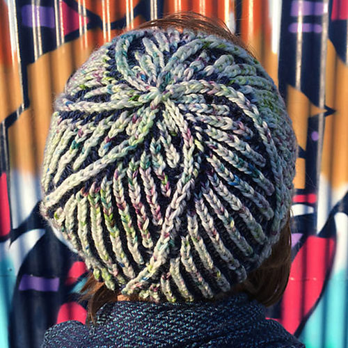 Lorna's Laces Zelm Hat Kit - Glascow/Cookie's Deep Dark Secret (GLACOO)